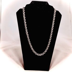Artisan Stainless Steel Double Spiral Chain